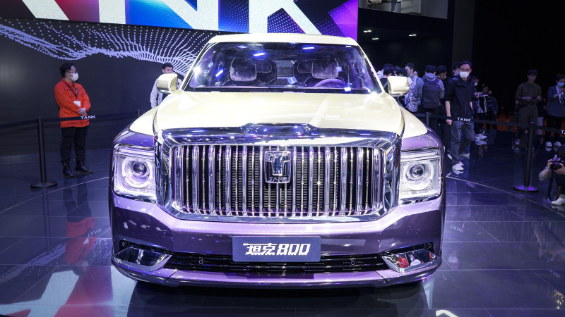 Great Wall TANK 800 Made Debut in China: Cullinan-like luxury SUV