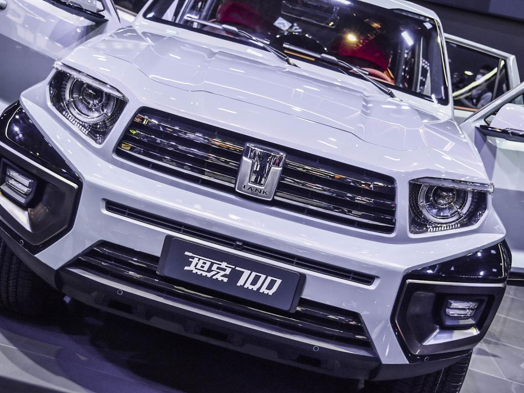 Great Wall TANK 700 is officially unveiled! Power tower over Mercedes-Benz V8