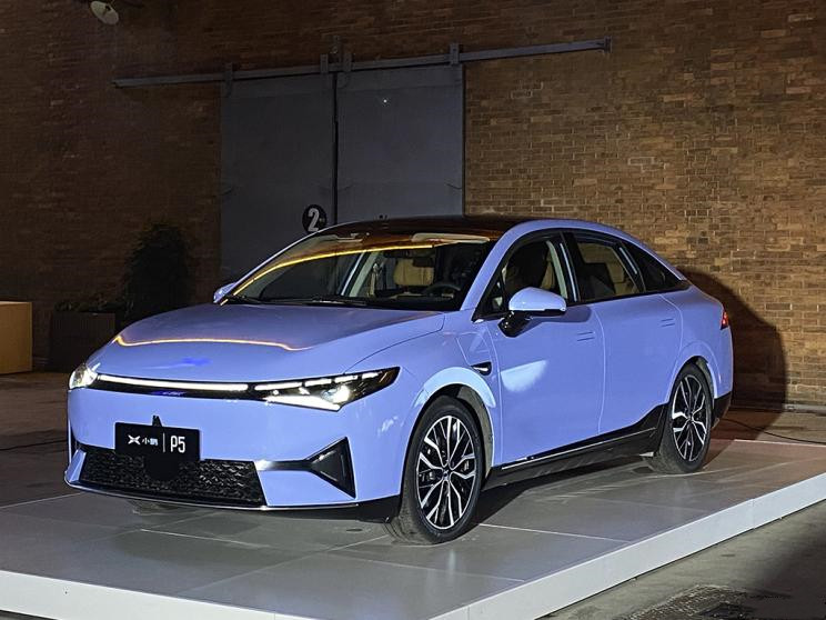 Xpeng P5 - Xpeng Motor's 3rd EV Made Debut in China