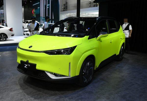 2021 HYCAN Z03 (EV) Technical Specs