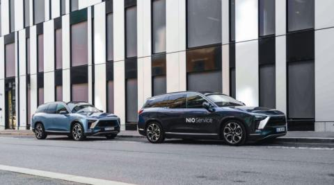 NIO Starts to Sell Its Flagship Electric SUV ES8 in Norway